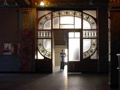 Liszt Ferenc Music Academy detaile - Art Nouveau - Budapest, Hungary