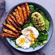 Yummy breakfast for a healthy boost Delicious snack Healthy eating fitness Inspirational yum food delicious healthy breakfast meal happy yummy yum good eating fuel. Healthy Meal Prep, Healthy Snacks, Healthy Eating, Healthy Recipes, Diet Recipes, Breakfast Healthy, Vegetarian Breakfast, Paleo Food, Salad For Breakfast
