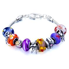 Valentines Day Gifts Pugster Beads Fit Pandora Chamilia Biagi Charm Murano Glass Bracelet Pugster. $49.99. Money-back Satisfaction Guarantee. Handmade in China in the VenetianáMuranoáStyle. Stunning Colorful Murano Glass Style Designer Fashion bracelet. Great to give away as presents, gifts to friends or family members.. Free Jewerly Box.