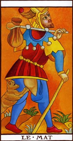 """The fool is the only one of the major arcana in a tarot deck without a number. """"Beware, Sir Gawain: if the lance catches your backside,the ladies in the tower shall have another moon at which to stare."""" Certainly the fool is a simpleton. Maybe he has been made simple by love, like Sir Gawain. Or maybe he is just simple-minded by nature: """"Lament, Parsifal the wretched: through your simple-mindedness,the Fisher King yet suffers from his wound."""""""