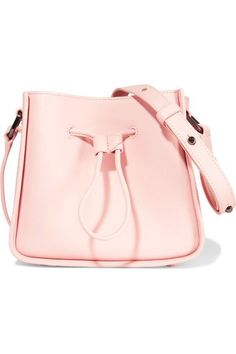 Phillip Lim - Soleil Mini Leather Shoulder Bag - Pastel pink - Valentines  day date look! 4f5d3bbfaf