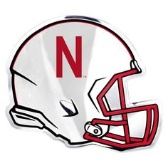 Nebraska Cornhuskers Helmet Auto Emblem - (Promark)