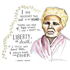 Women's History Month Day 9- Harriet Tubman #herstory