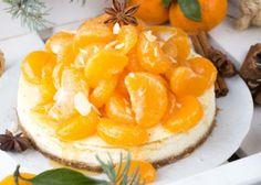 Τσιζκέικ μανταρίνι Sweet Recipes, Snack Recipes, Sweets Cake, Camembert Cheese, Cheesecake, Chips, Food And Drink, Fruit, Cooking