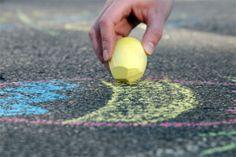 DIY: gesso per disegnare in strada