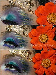 Mother Nature/ Nymph Halloween Makeup Tutorial  #makeup #beauty #makeuptutorials