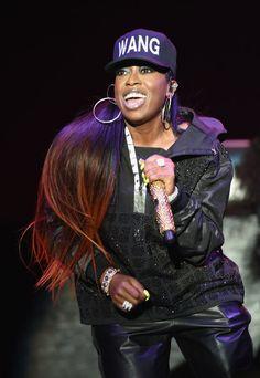 Pin for Later: 55 Music Stars With Real Names You Won't Recognize Missy Elliott = Melissa Arnette Elliott