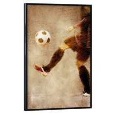 Football illustration sport Illustration, Poster, Football, Sport, Abstract, Artwork, Painting, New Looks, Great Gifts