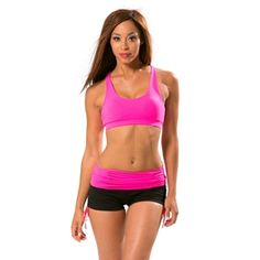 Let's Tango Sports Bra in Hot Pink