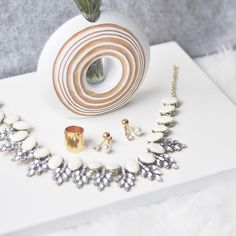 valencia offwhite necklace