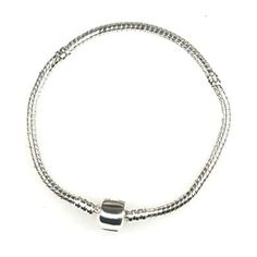 18cm Silver Bracelet For European Beads Charm Choose - Shipping Cap Promotion- - TopBuy.com.au