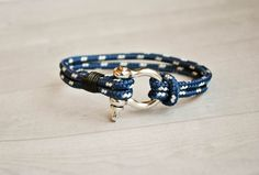 Nautical bracelet anchor bracelet sailor ahoy nautical bracelet mens braceletarmband pulsera navy bracelet nautical stainless steel (15.00 EUR) by CristinaHandmade