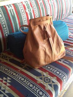 leather handmade backpack by weloveboho on Etsy