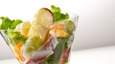 Keep a couple cans of your favorite fruit in the refrigerator for chilled fruit at a moment's notice. If you use it in a fruit salad, the chilled fruit will make your salad nice and cold. Creamy Fruit Salads, Summer Salads With Fruit, Fresh Fruit Salad, Fruit Salad Recipes, Dessert Recipes, Desserts, Dessert Salads, Dinner Recipes, Fruit Salad Cool Whip