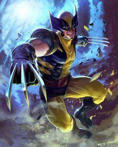 Character Drawing, Wolverine, Comic Art, Batman, Fan Art, Superhero, Comics, Weapon, Drawings