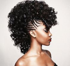 mohawk crochet braids | Braid of The Week: Fancy Mohawk with Braids – Natural Hair ...
