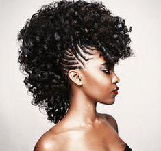 mohawk crochet braids | Braid of The Week: Fancy Mohawk with Braids – Natural Hair ...