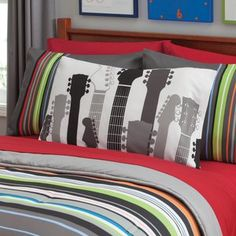 your zone guitar neck pillowcase