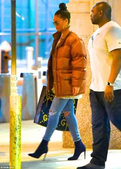 Get real with Rihanna and her Gucci Ghost bag  Click 'visit' to buy it now   #DailyMail