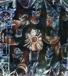 Still Life with Thistle Bloom Paul Klee, 1919
