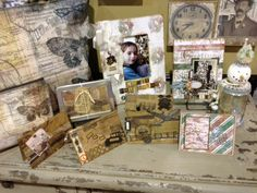 Ranger Ink Tim Holtz Misc Altered Projects and Cards Etc. Beautiful