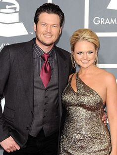 THE cutest country couple and both great singers, Miranda Lambert and Blake Shelton!