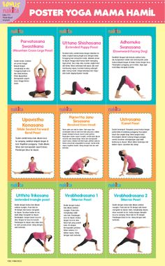 Yoga Mama Hamil Happy Pregnancy, Pregnancy Labor, Pregnancy Health, Pregnancy Workout, Lose Weight While Pregnant, Exercise While Pregnant, Prenatal Yoga Poses, Sleep Yoga, Kids Mental Health