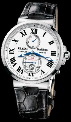 Ulysse Nardin Marine Chronometer Dream Watches, Luxury Watches, Future Watch, Marine Chronometer, Le Locle, Crocodile Skin, Van Cleef Arpels, Beautiful Watches, Bvlgari