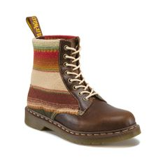 Shop for Dr. Martens 1460 Pendleton Boot in  Brown at Journeys Shoes. Shop today for the hottest brands in mens shoes and womens shoes at Journeys.com.Get a style all your own with the 1460 8 Eye Boot from Dr Martens. The smooth leather upper of this classic boot offers rugged durability and style. The signature Dr. Martens welted construction and original PVC outsole ensure long-lasting durability. ORDER IN YOUR NORMAL U.S. SIZES. Available only online at Journeys.com!Please note  This…