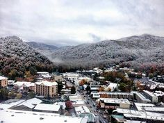 Winter in Gatlinburg Tenn