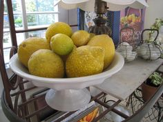 A exceptional collection of vintage stone Lemons.always looks good. Fruit Love, Stone Fruit, Fruits And Vegetables, Marble, Collections, Carving, Country, Antiques, Amazing