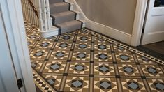Victorian Floor Tiles | Tiles on Sheets | Geometric Ceramic Tile Design and Supply | London Mosaic