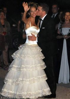 Argentina actress Luisana Lopilato and Canadian vocalist Michael Buble married in March 2011.