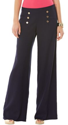 Lilly Pulitzer Cruise Pant. Luv the Flare Pant leg.!♡♡