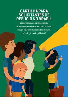 Cartilha para solicitantes de refugio no Brasil by Ministério da Justiça via slideshare. Repassem para todos que estão trabalhando com refugiados para que eles tem acesso à essa informação