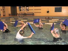 Aqua Kickboarding Circuit - YouTube