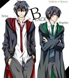 The Black Brothers, Sirius & Regulus.