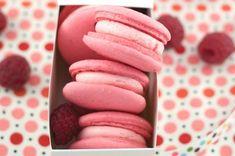 Raspberry Rose Macarons (With Aquafaba!) [Vegan]