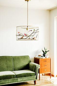 Copper Birdcage Pendant Light Chandelier by Kekoni on Etsy Birdcage Chandelier, Chandelier Lighting, Kitchen Pendants, Kitchen Pendant Lighting, Lampe Decoration, Ideas Prácticas, Bedroom Lamps, Bird Cage, Home And Living