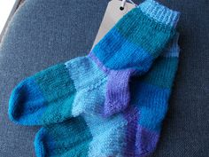 children' s hand knitted socks  knitted socks  by beaulyben