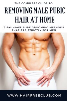 Pin On Hair Removal For Men