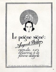 Auguste Bonaz (Combs) 1922 Art Deco Style