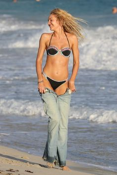 Pin for Later: Behold: Candice Swanepoel in All Her Bikini-Clad Glory