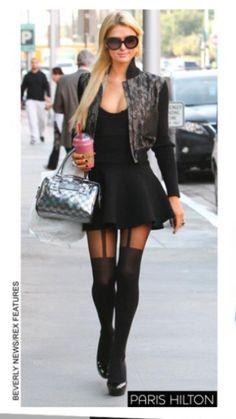 loving me some house of holland suspender tights Paris Hilton House Of Holland, Cute Celebrities, Celebs, Paris Hilton Style, Suspender Tights, Pantyhosed Legs, Fashion Vocabulary, Moda Vintage, Legging