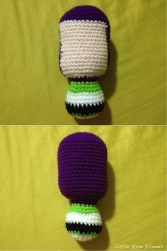 Little Yarn Friends • Crochet Pattern: Lil' Buzz Lightyear