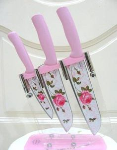 Floral knife set