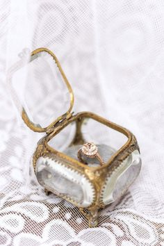 Engagement Ring & Box...Lovely