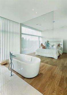 10 Best open plan bedroom/bathroom ideas images  Open bathroom, Master bedrooms, Bathroom ideas