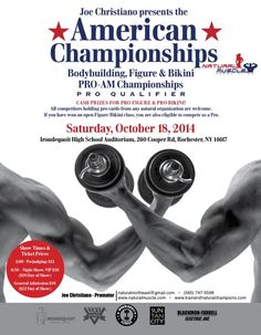 Natural Bodybuilders Show in Rochester, NY