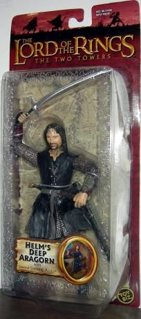 Helm's Deep Aragorn - Lord Of The Rings (7 Inch) I want this